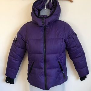 Hawke & Co fleece lined waterproof coat size 10/12